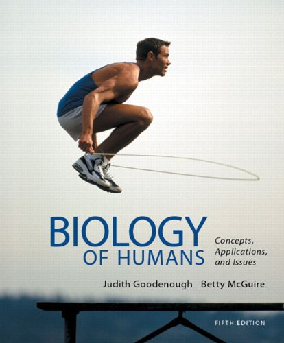 book Biology of Humans: Concepts, Applications, and Issues (5th Edition)