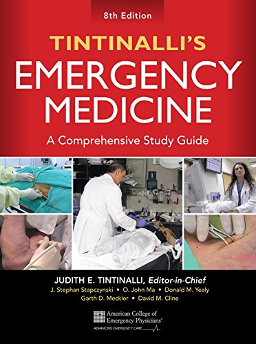 book Tintinalli\'s Emergency Medicine: A Comprehensive Study Guide, 8th edition