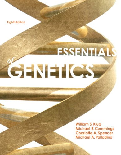 book Essentials of Genetics (8th Edition)