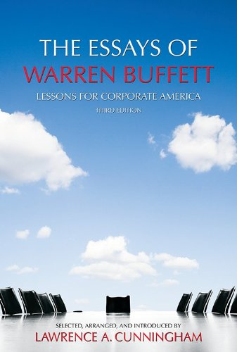 book The Essays of Warren Buffett: Lessons for Corporate America, Third Edition