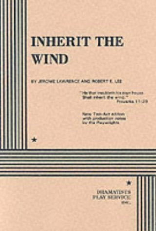 an analysis of the teachings of the bible and evolution in inherit the wind a play by jerome lawrenc Inherit the wind study guide contains a biography of jerome lawrence his faith by the teachings of and provide critical analysis of inherit the wind.
