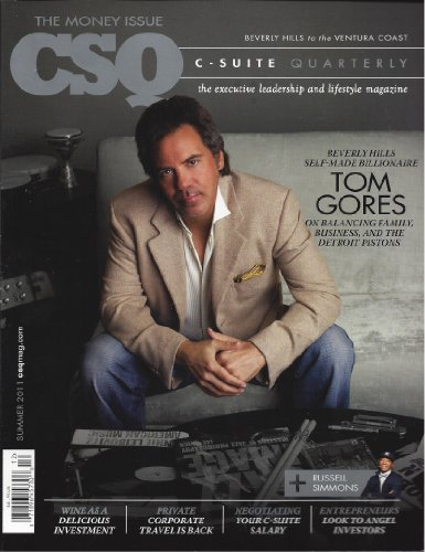book CSQ Detroit Pistons Tom Gores C Suite Quarterly Summer 2011 Other Additional Issues Available! Feel Free to Contact By Email