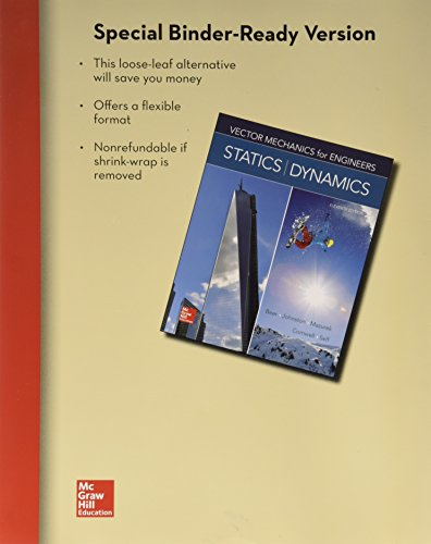 book Loose Leaf for Vector Mechanics for Engineers: Statics and Dynamics