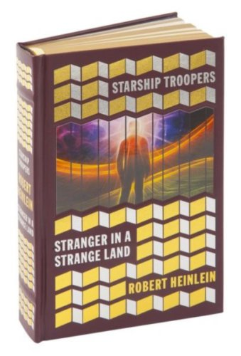 book Starship Troopers and Stranger in a Strange Land, Leatherbound Edition