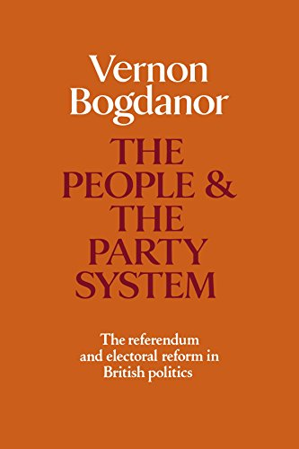 book The People and the Party System: The Referendum and Electoral Reform in British Politics