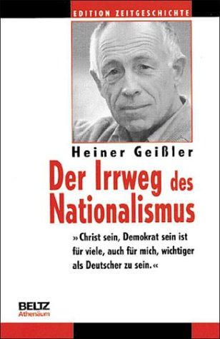 book Der Irrweg des Nationalismus (Edition Zeitgeschichte) (German Edition)