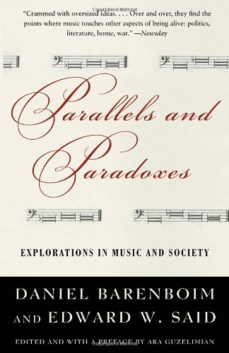 book Parallels and Paradoxes: Explorations in Music and Society