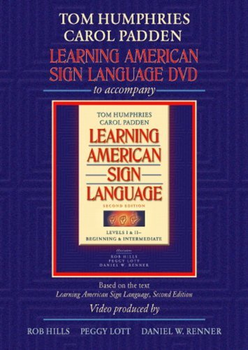 book By Tom L. Humphries - Learning American Sign Language DVD: 2nd (second) Edition