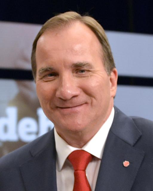Stefan Löfven (born July 21, 1957), Swedish politician, welder, The Swedish Prime Minister ...