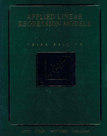 book Applied Linear Regression Models