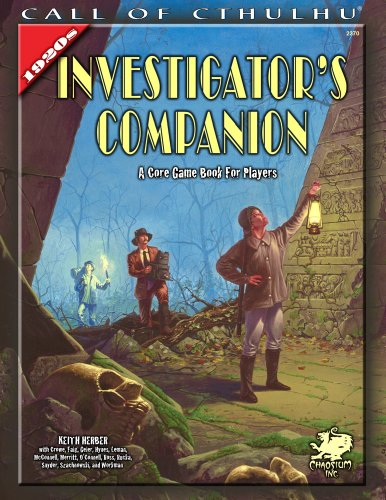 book The Investigator\'s Companion: A Core Game Book for Players (Call of Cthulhu roleplaying)