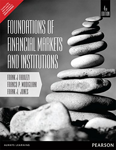 book Foundations of Financial Markets and Institutions (4th Edition) [Paperback]