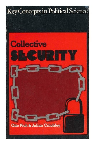 book Collective Security \/ Otto Pick and Julian Critchley