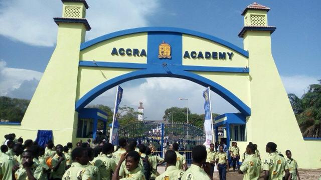 Education period of Daniel Annan in Accra Academy