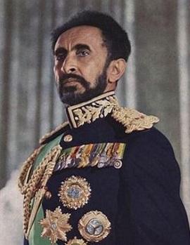 Haile Selassie I Woldemikael (July 23, 1892 — August 27 ...