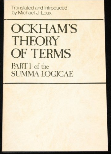 book Ockham\'s Theory of Terms: Part 1 of the Summa Logicae