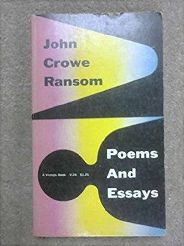 Poems and essays (A Vintage book)