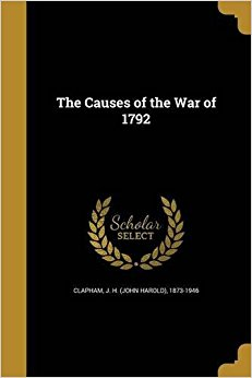 essay The Causes of the War of 1792