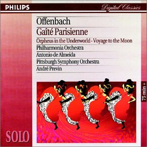 album Offenbach: Gaite Parisienne; Orpheus in the Underworld; Voyage to the Moon
