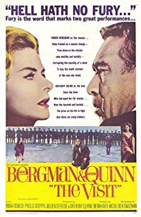 Movie The Visit: Ingrid Bergman, Anthony Quinn, Irina Demick, Paolo Stoppa