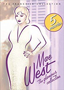 Movie Mae West - The Glamour Collection (Go West Young Man\/ Goin\' To Town\/ I\'m No Angel\/ My Little Chickadee\/ Night After Night)