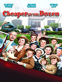 Movie Cheaper By The Dozen (1950): Barbara Bates, Betty Lynn, Clifton Webb, Edgar Buchanan: Amazon   Digital Services LLC