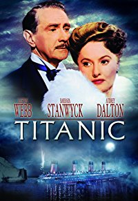 Movie Titanic (1953): Clifton Webb, Barbara Stanwyck, Robert Wagner, Audrey Dalton: Amazon   Digital Services LLC