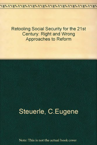 book Retooling Social Security for the 21st Century