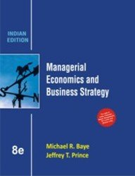 book Managerial Economics & Business Strategy (8th Edition) [Paperback]