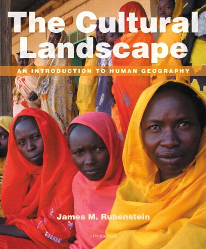 book The Cultural Landscape: An Introduction to Human Geography (11th Edition)