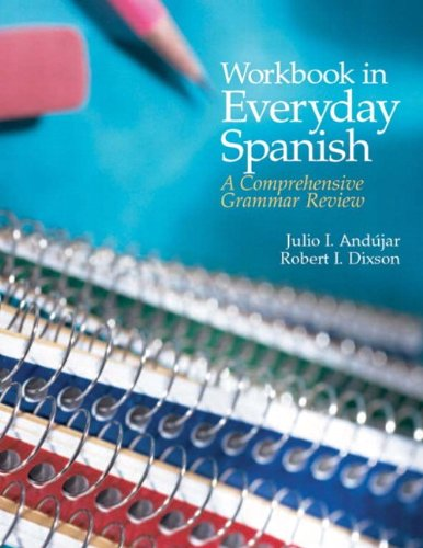 book Workbook in Everyday Spanish: A Comprehensive Grammar Review (4th Edition)