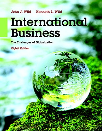 book International Business: The Challenges of Globalization (8th Edition)