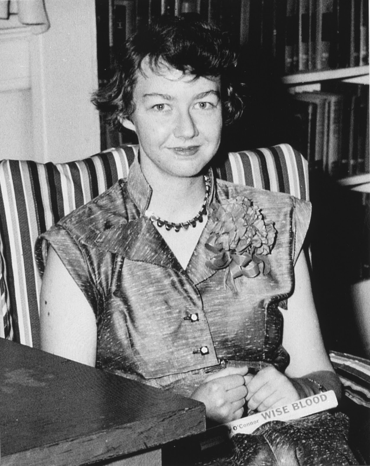 mary flannery oconnor Milledgeville now looms huge beyond these modest attributes because of o'connor, or mary flannery, as she was known in town her output was slender: two novels, a couple dozen short stories, a.