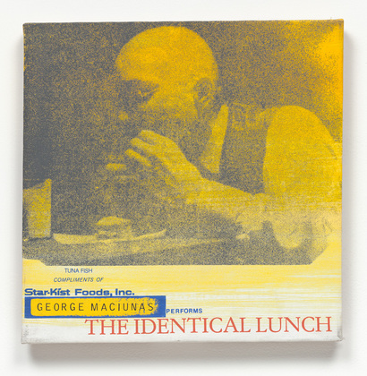 painting George Maciunas Performs The Identical Lunch