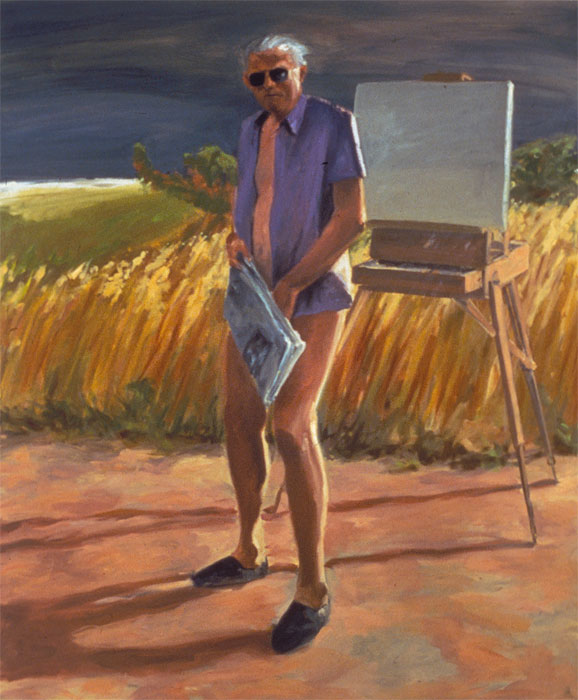 painting Portrait of the Artist as an Old Man