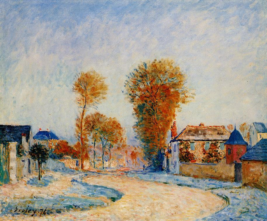 Alfred Sisley October 30 1839 January 29 1899 British Painter World Biographical Encyclopedia