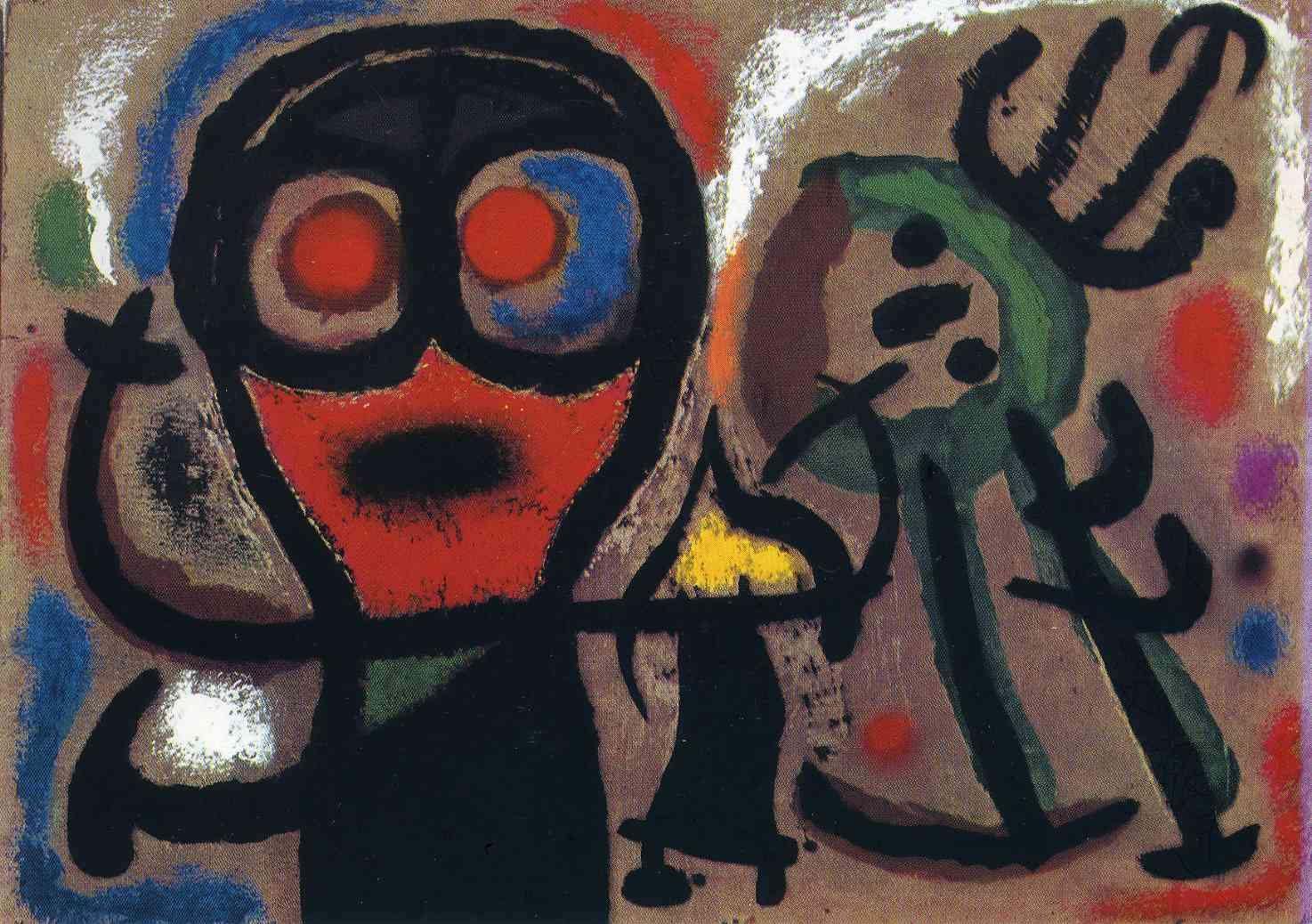 d15d2e7c8 Joan Miro (April 20, 1893 — December 25, 1983), Spaniard painter ...