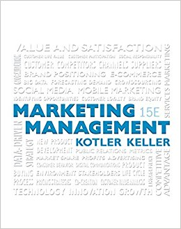 book Marketing Management (15th Edition)