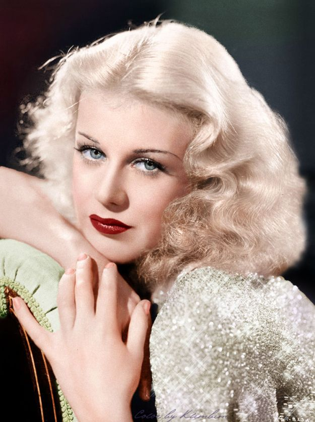 Ginger Rogers July 16 1911 April 25 1995 American Dancer Singer Actress World Biographical Encyclopedia