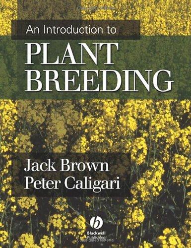 selection methods in plant breeding bos izak caligari peter