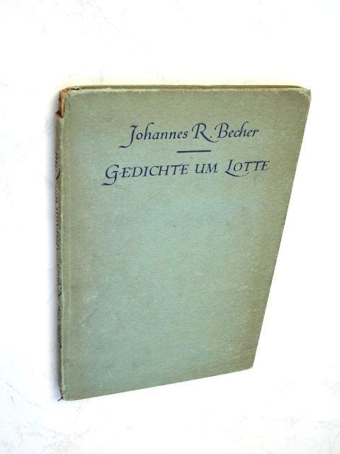 Johannes Robert Becher May 22 1891 October 11 1958