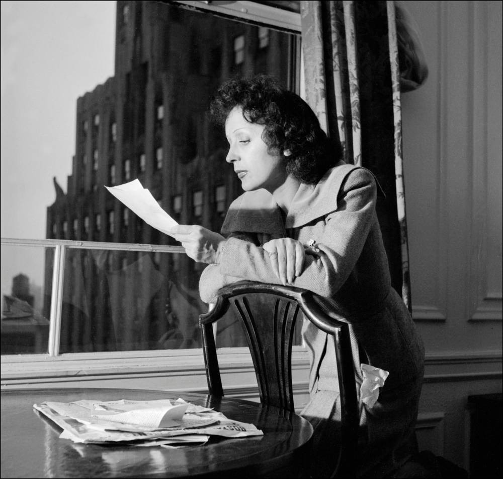 Edith Piaf (December 19, 1915 — January 11, 1963), France singer, actress,  songwriter   World Biographical Encyclopedia
