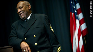 William Henry Cosby in Military service, position: