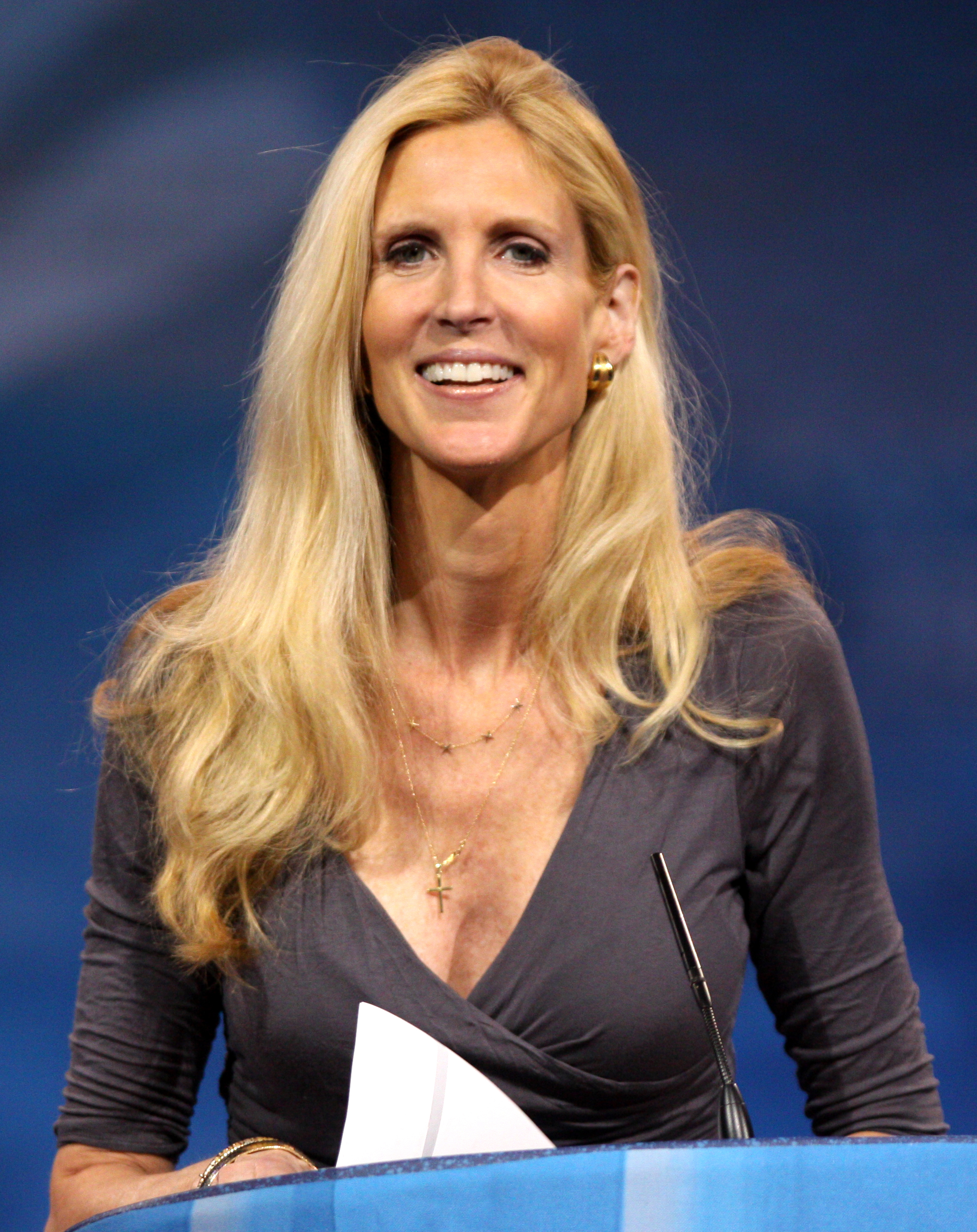 Fake ann coulter photos Good Morning Britain rows with Ann Coulter over