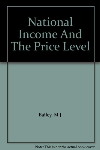 book National Income And The Price Level