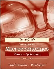 book Microeconomic Theory & Applications, Study Guide 10th (tenth) edition Text Only