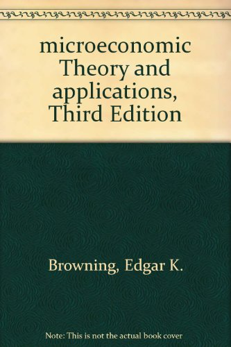 book microeconomic Theory and applications, Third Edition