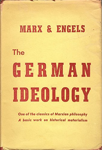 book The German Ideology Parts I & III.