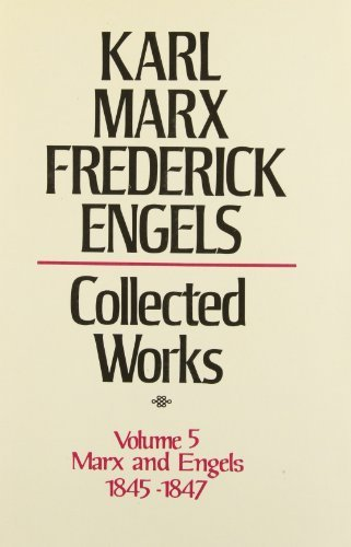 book Collected Works of Karl Marx and Friedrich Engels, 1845-47, Vol. 5: Theses on Feuerbach, The German Ideology and Related Manuscripts Hardcover June, 1976