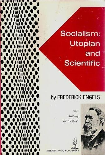 book Socialism: Utopian and Scientific by Engels, Friedrich published by Intl Pub [Paperback] 1972